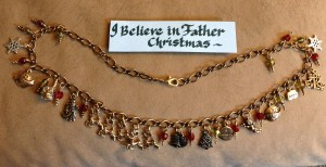 """I Believe in Father Christmas"" Necklace"