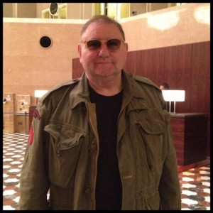 Greg Lake arrives in Japan