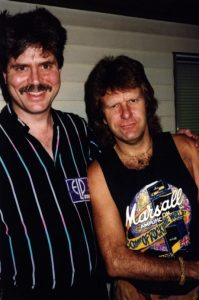 Chuck Wagner & Keith Emerson, 1992
