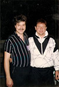 Greg Lake with Chuck Wagner, 1992